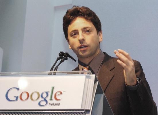 세르게이 브린 구글 창업자