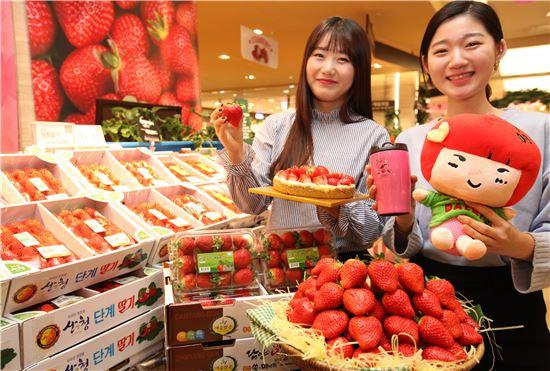 '최대 30% 할인' 롯데백화점, 딸기 페스티벌 진행