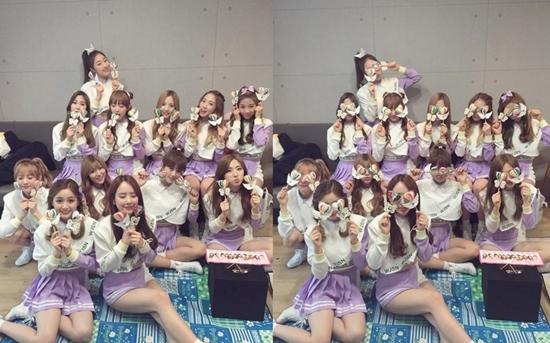 사진= 우주소녀 공식 SNS