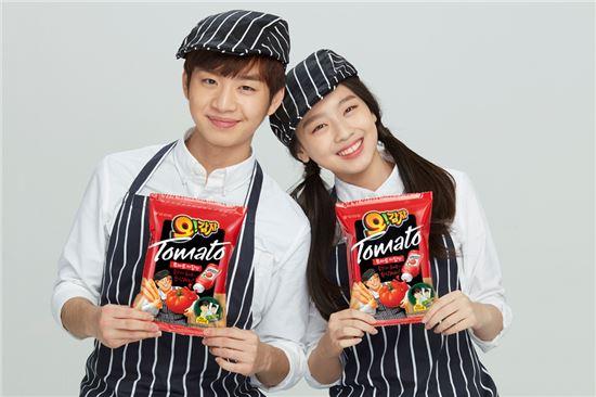 오리온, '오!감자 토마토케찹맛' 출시 45일만에 200만개 판매