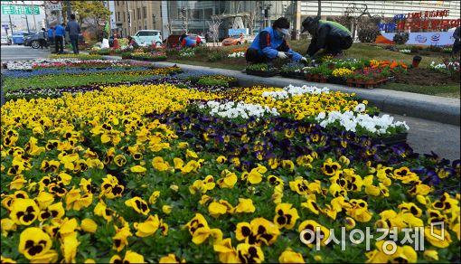 [포토]'봄 맞이 새단장'