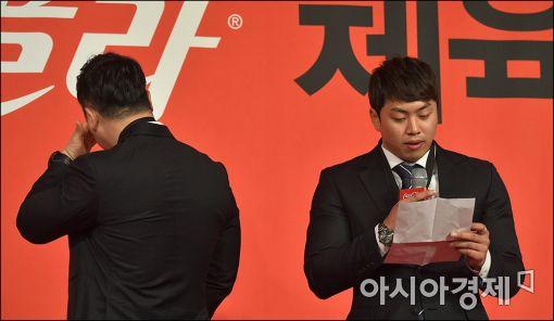 [포토]챔피언의 '눈물'