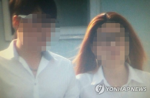 원영이 친부와 계모. 사진=연합뉴스