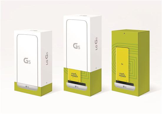 LG G5 제품 상자(사진:LG전자)