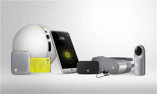 LG G5와 LG 프렌즈