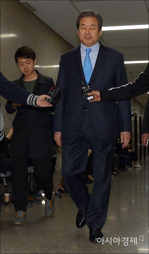 [포토]김무성 대표, 비공개 최고위 참석