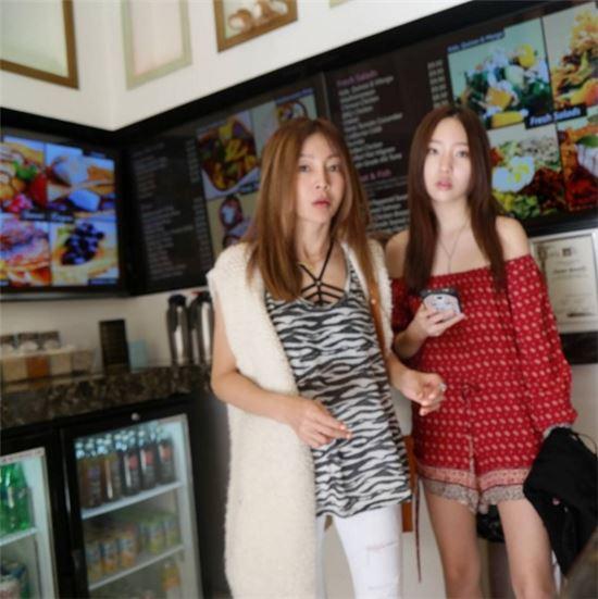 황신혜 이진이 사진=황신혜 인스타그램 캡처