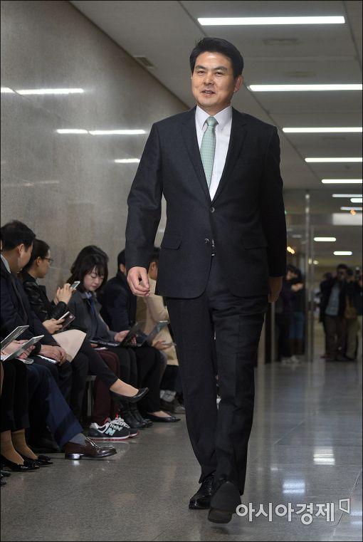 [포토]김태호, 비공개 최고위 참석