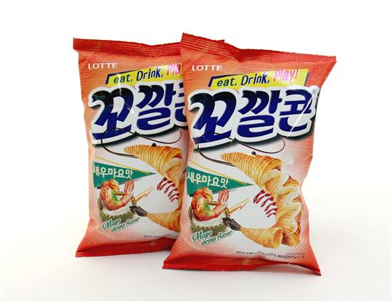 [봄이 왔어요]롯데제과, '꼬깔콘 새우마요맛' 출시