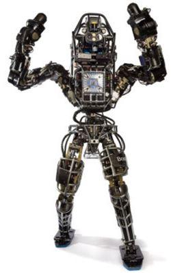 보스턴 다이내믹스가 개발 중인 인간형 2족 보행 로봇 아틀라스(출처 보스턴 다이내믹스 홈페이지)