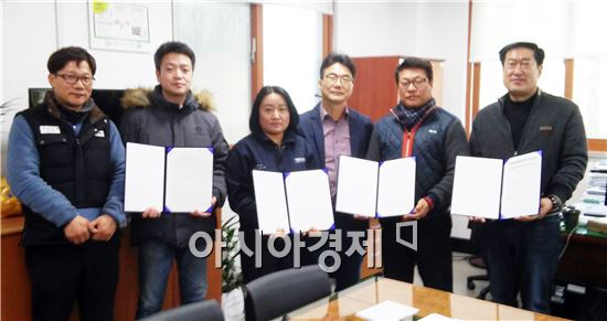 영암군(군수 전동평)이 전남형 청년인턴사업 참여기업 4곳과 협약을 체결했다.