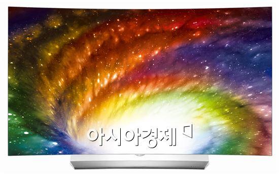 ▲LG전자 2016년형 신제품 올레드 TV OLED55C6K.(제공=LG전자)