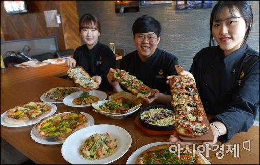 [포토]캘리포니아 피자 키친, 새 봄맞이 새 메뉴 출시