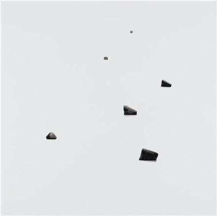 최준근, 'sea', 150×150cm, 2016년