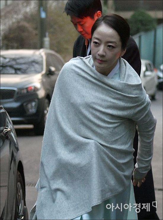 [포토]노현정, 고 정주영 회장 15주기 참석