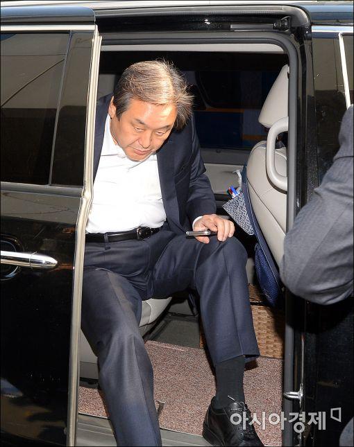[포토]당무 복귀하는 김무성 대표