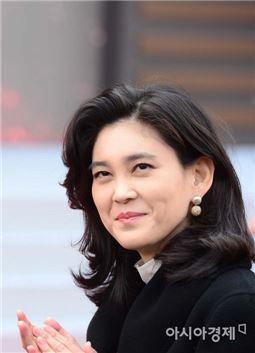 [포토]밝은 표정의 이부진 호텔신라 사장