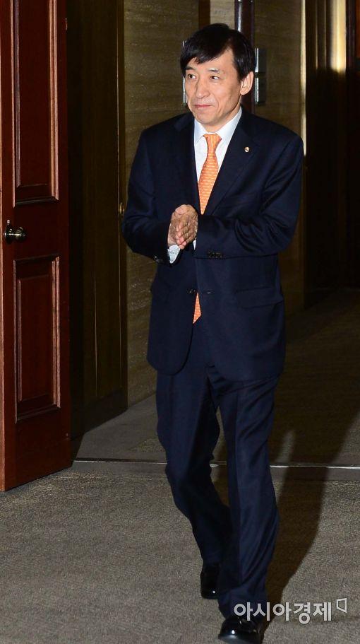 [포토]경제동향간담회 참석하는 이주열 한은 총재