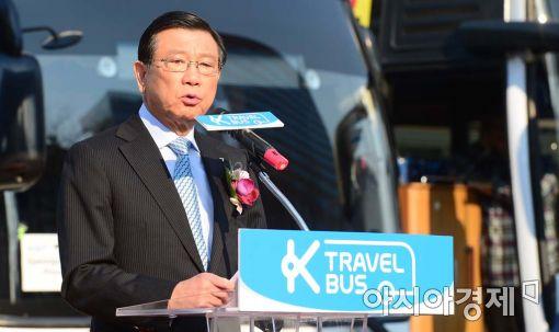 [포토]인사말하는 박삼구 한국방문위원회 위원장
