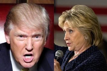 도널드 트럼프, 힐러리 클린턴/사진=아시아경제
