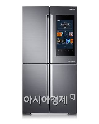 """벅스 """"삼성 '패밀리 허브' 냉장고로 음악 즐기세요"""""""