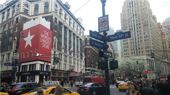 뉴욕 맨해튼의 매이시스 백화점
