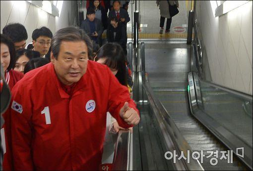 """김무성 """"與 운동권 출신은 다 정치인으로 변신"""""""