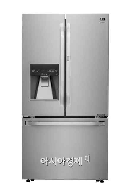 ▲에너지스타 인증_LG 냉장고(모델명:LSFXC2476S).(제공=LG전자)