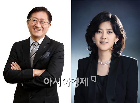 서경배 아모레퍼시픽 회장(좌), 이부진 호텔신라 사장(우)