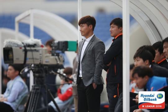 남기일 감독 [사진=한국프로축구연맹 제공]