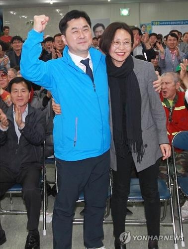 '충남 '논산계룡금산' 김종민 더불어민주당 후보 당선 사진=연합뉴스