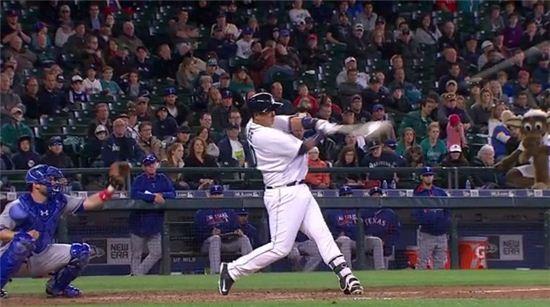 이대호 끝내기 홈런 사진=MLB.com 캡처
