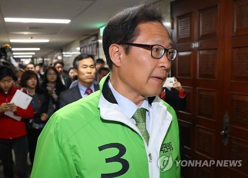 문병호 국민의당 후보. 사진=연합뉴스