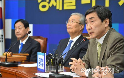 """이종걸 """"경제·민생 법안처리 위한 3당 대표 회담 요구"""""""