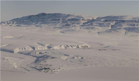 ▲북극 등에 대한 '아이스브리지' 프로젝트가 8년째 이뤄지고 있다.[사진제공=NASA]