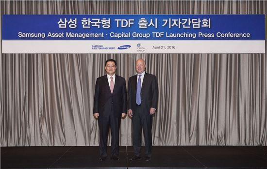 삼성자산운용, '한국형 TDF'펀드 출시