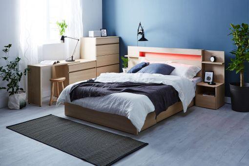 에몬스가구, 홈쇼핑 전용 '레인보우 에디션 LED 침대' 출시