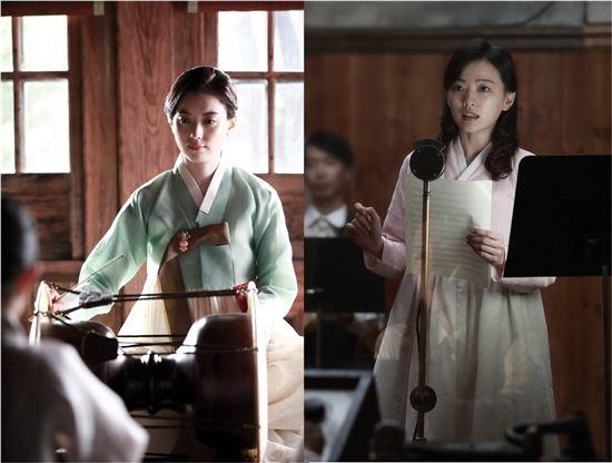 영화 '해어화' 속 한효주(왼쪽)와 천우희