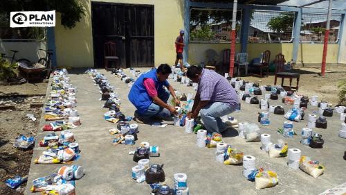 에콰도르 구호활동