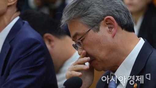 [포토]심각한 표정의 임종룡 금융위원장