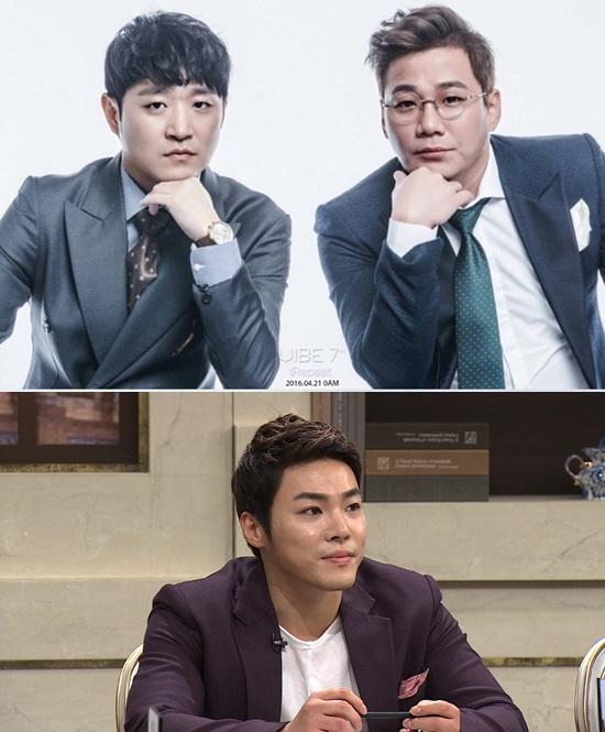 바이브(위), 휘성(아래). 사진=더바이브엔터테인먼트, JTBC 제공
