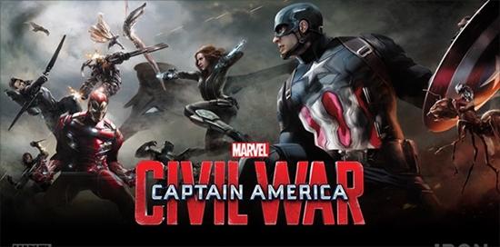 '캡틴 아메리카: 시빌 워' 포스터