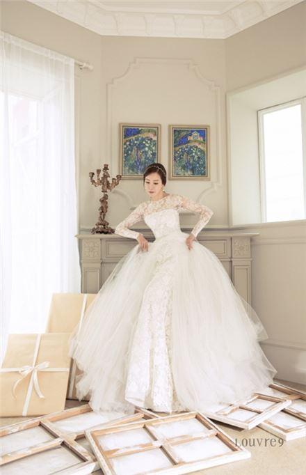 김정은 결혼. 사진=심엔터테인먼트 제공