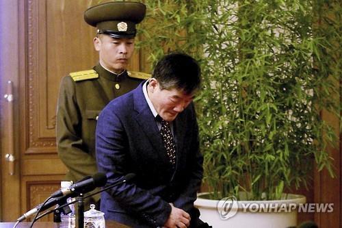 북한에 억류된 김동철(62)씨. 사진=연합뉴스
