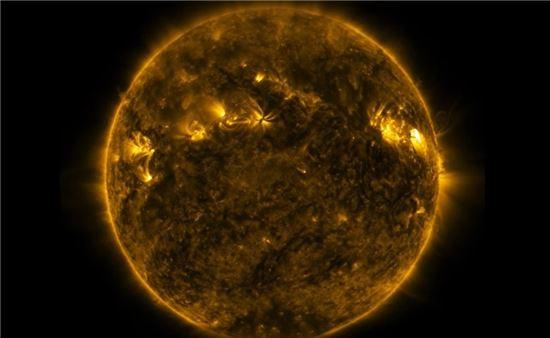 ▲SDO가 태양 플레어를 포착해 관심을 모으고 있다.[사진제공=NASA]