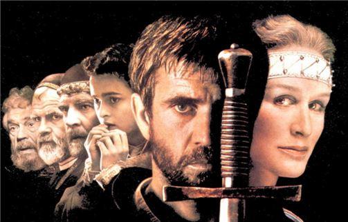 프랑코 제페렐리 감독의 영화 '햄릿'(1990). 멜 깁슨이 주연을 맡았다.