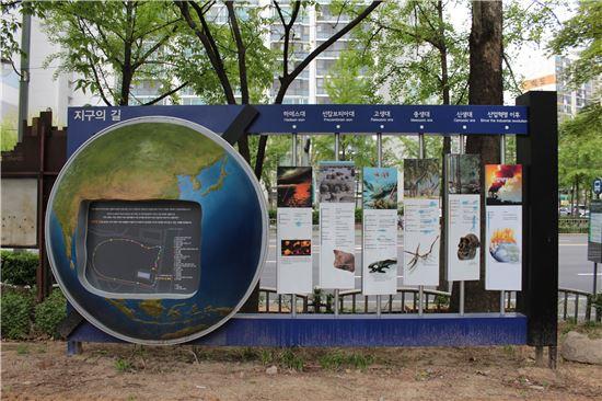 지구의 길 연표