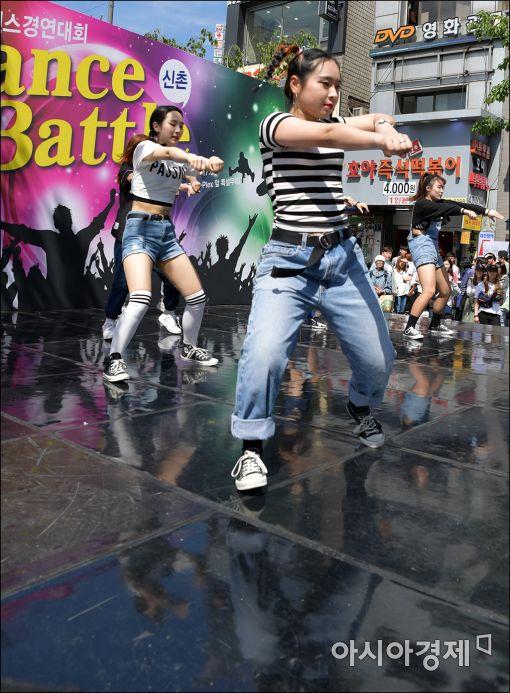 [포토]'태권(?) 댄스'