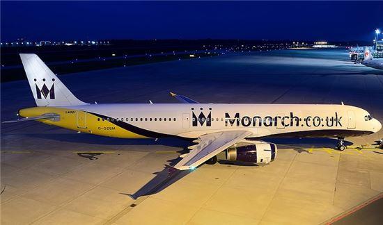 모나크 항공 여객기 사진=온라인 커뮤니티