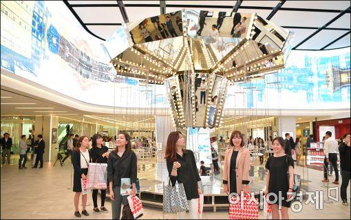 [포토]신세계백화점 면세점 오픈
